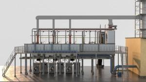 Equipment factory production continuous basalt fiber technology