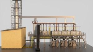 Equipment factory production continuous basalt.fiber technology