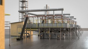 New technology production of continuous basalt fiber roving